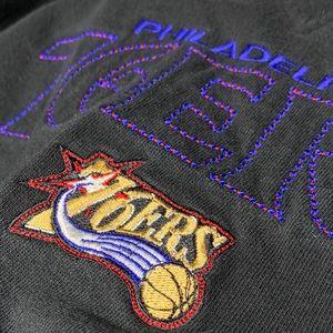 Reebok Philadelphia 76ers Crew Neck Sweatshirt